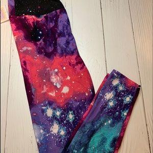 New galaxy Lularoe one size 2-10 stretch leggings